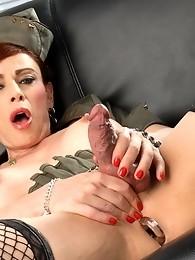 Amazing Jasmine toying her sweet juicy ass