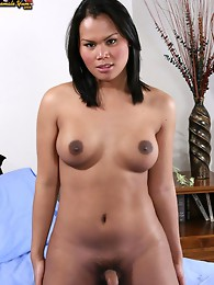 Saki is a really hot Cambodian girl with a unique look