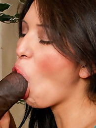 Shemale pornstar Jamie Page interracial hardcore sex