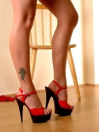 Slutty in Black and Red