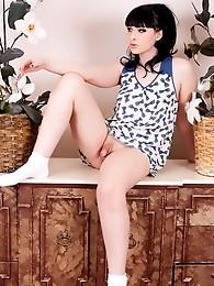ncredible Bailey Jay posing her perfect body