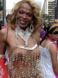 Gay Parade in Sao Paulo Brazil 2008 with Nikki Montero