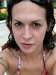 Few hot shots of Nikki in Cancun at the beach