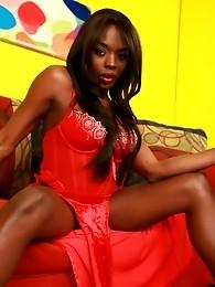 Ebony hotness Lina posing her irresistible body